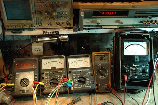 Analoge en digitale handmultimeters