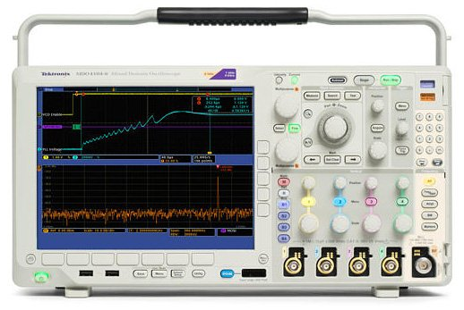 Tektronix MDO4000 mixed domain oscilloscope