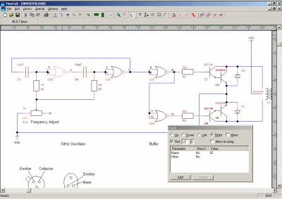 Screenshot TinyCAD