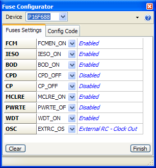 Screenshot Proton+ Fuse Configurator plug-in